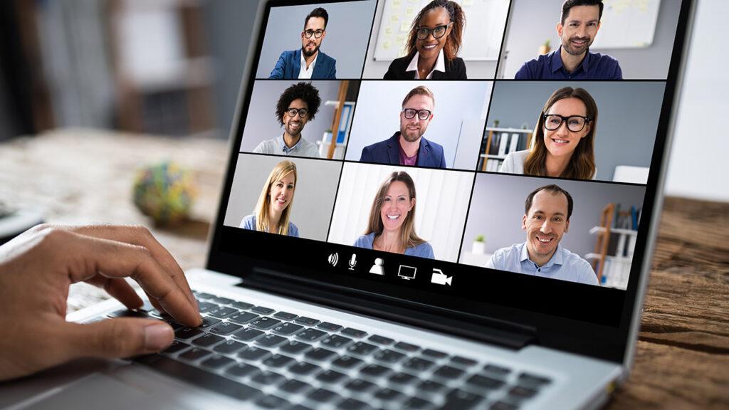 Streaming zu Konferenzsoftware ist problemlos möglich.